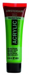 Amsterdam Standard Series Art Acrylic Paint Small Size tube 20 ml - Brilliant Green